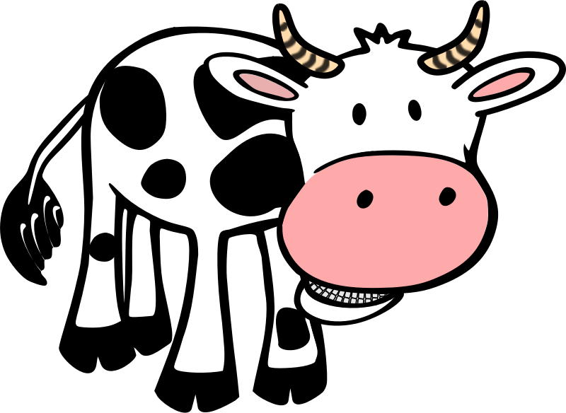 Cartoon Cow.