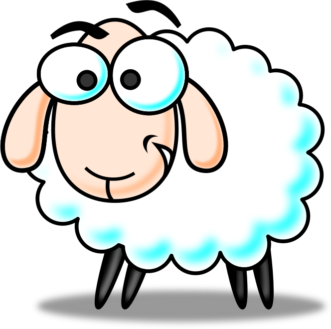 Awesome Cartoon Sheep