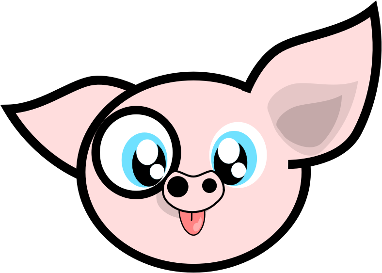 Free Cute Clipart Of Baby Pigs & More