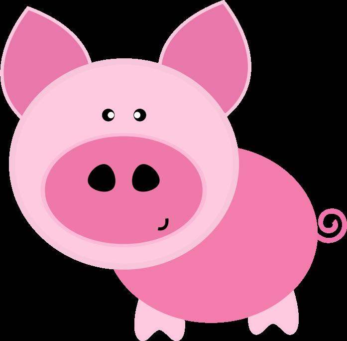 Pig Looking.