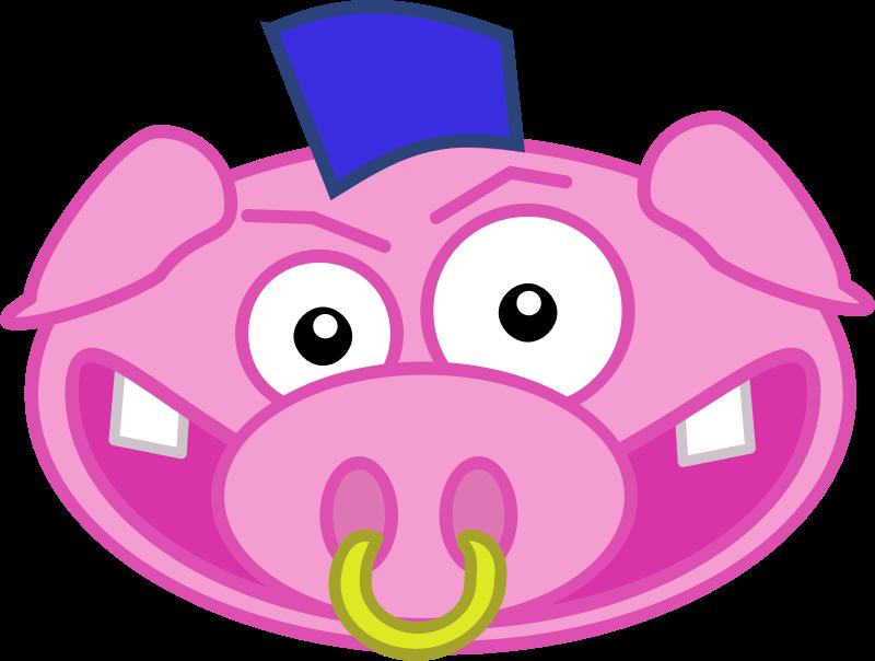 Punk Pig.