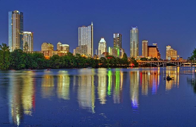 Austin City Skyline.