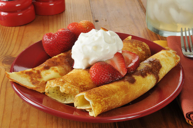 Crepes.