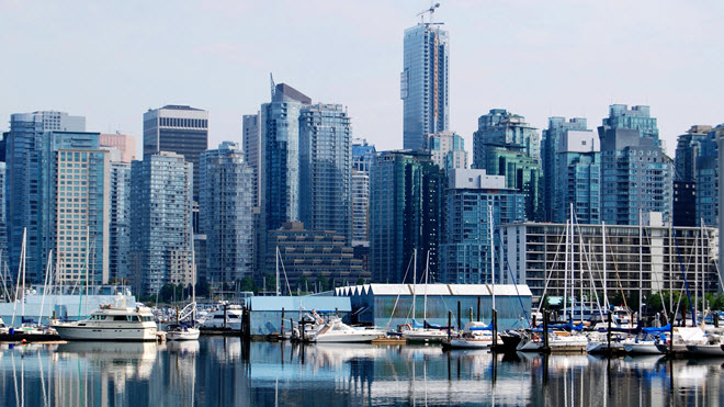 Downtown Vancouver Skyline.