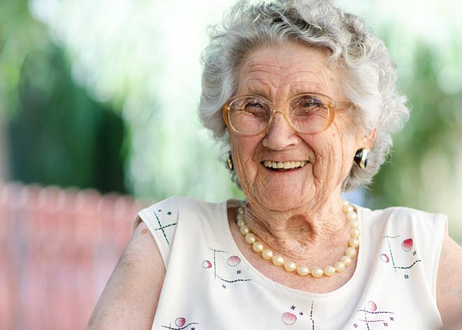 Elderly Woman.