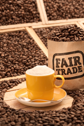 Fair Trade Coffee.