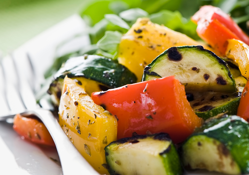 Grilled Vegetables.