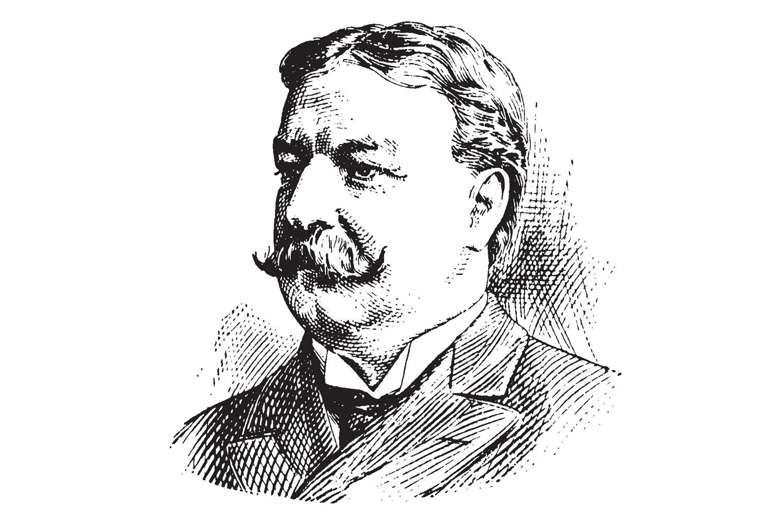 Sketch of President William Howard Taft.