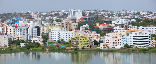 Hyderabad Cityscape.