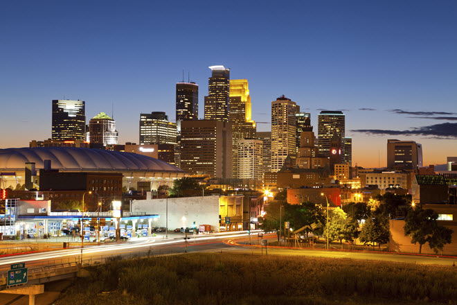 Minneapolis Skyline.