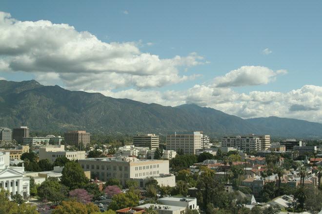 Pasadena Skyline.