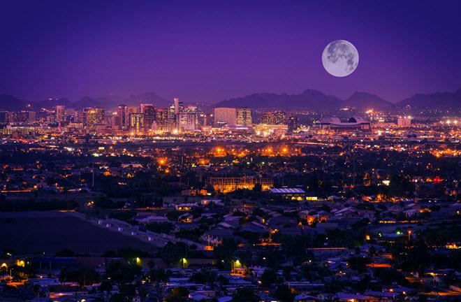 Phoenix Skyline.
