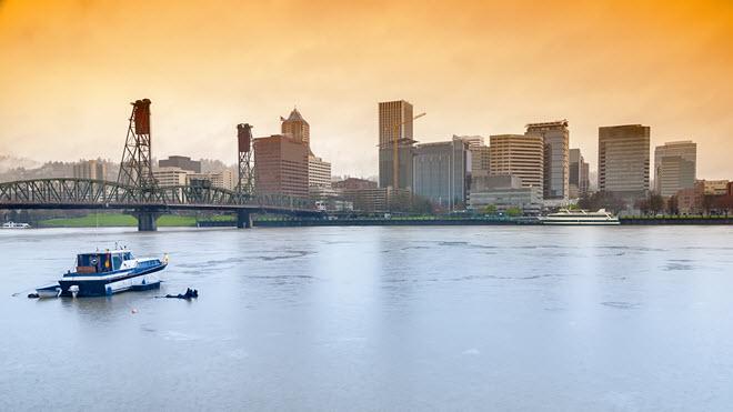 Portland Skyline.