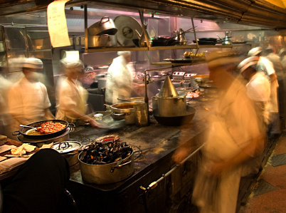Restaurant Kitchen Operations types of chefs: executive chef, sous chef & celebrity chefs