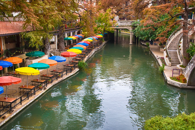 San Antonio River Walk.