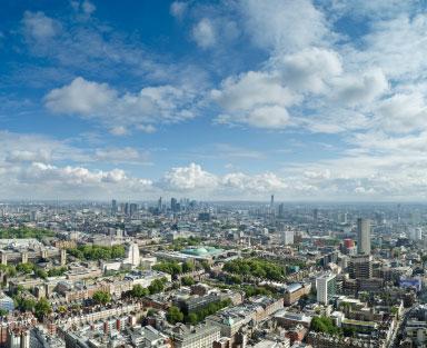 London skyview.
