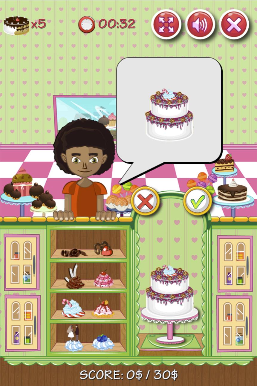 Cake Design Game.