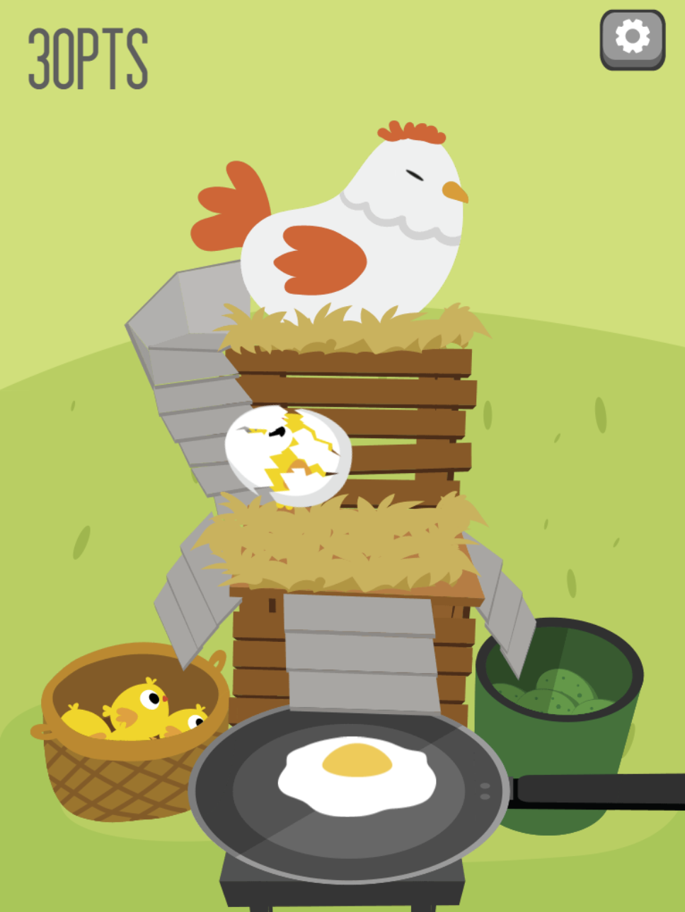 Egg Go Game.